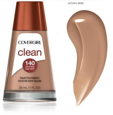 Covergirl Clean Normal Skin Foundation - 140 Natural Beige