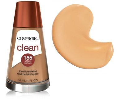 Covergirl Clean Normal Skin Foundation - 155 Soft Honey