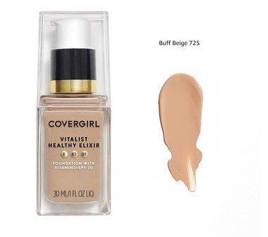 Covergirl Vitalist Healthy Elixir Foundation with Vitamins SPF20 - 725 Buff Beige