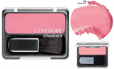 Covergirl Cheekers Blush - 110 Classic Pink