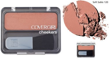 Covergirl Cheekers Blush - 120 Soft Sable