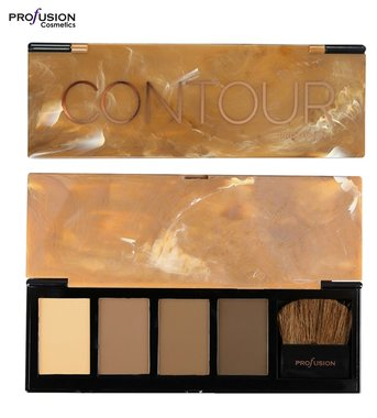 Profusion Absolute Contour Shape & Sculpt Palette - 4 shades + applicator brush