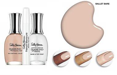 Sally Hansen Diamond Strength French Manicure Pen Kit - 3227 Ballet Bare