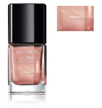 CoverGirl Outlast Stay Brilliant Nail Gloss - 241 Rose Gold