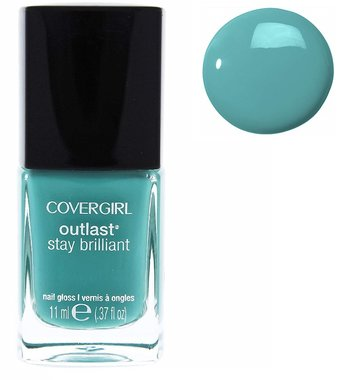 CoverGirl Outlast Stay Brilliant Nail Gloss - 285 Mint Mojito