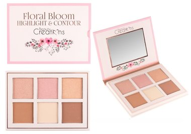 Beauty Creations Floral Bloom Highlight & Contour Palette