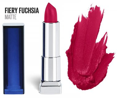 Maybelline Color Sensational Matte Lipstick - 810 Fiery Fuchsia