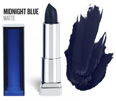 Maybelline Color Sensational Matte Lipstick - 840 Midnight Blue