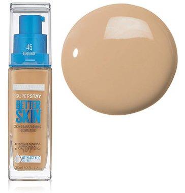 Maybelline SuperStay Better Skin Foundation - 45 Sand Beige