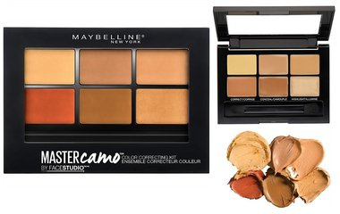 Maybelline Master Camo Color Correcting Kit - Concealer Palette - 300 Deep