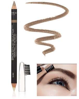 L'Oréal Paris Brow Stylist Sculptor 3-IN-1 Brow Tool - 355 Blonde