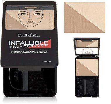 L'Oréal Paris Infallible Pro Contour & Highlight Palette - 813 Light