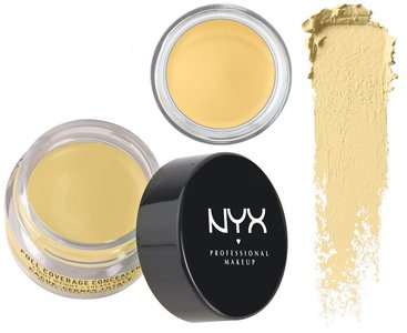 NYX Full Coverage Concealer Jar - CJ10 Yellow