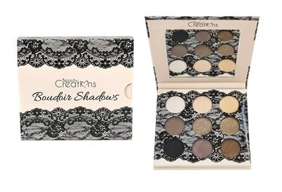 Beauty Creations Boudoir Eyeshadow Palette - 9 Matte & Shimmer Shades - E9BSB