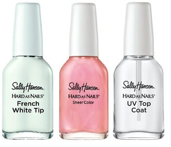 Sally Hansen Hard As Nails French Manicure Kit - 45146 Sheerly Opal
