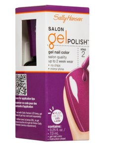 Sally Hansen Salon Gel Polish Gel Nail Color - 252 Polished Purple