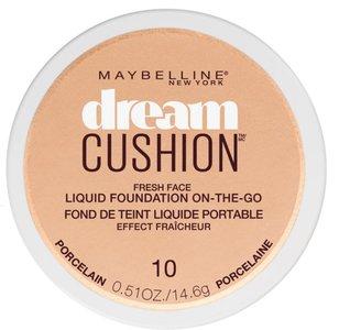 Maybelline Dream Cushion On-The-Go Liquid Foundation - 10 Porcelain