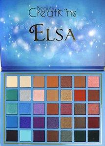 Beauty Creations 35 Color Pro Eyeshadow Palette Elsa - BCE12