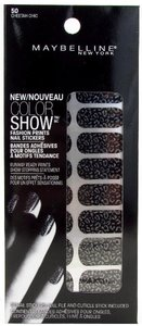 Maybelline Color Show Fashion Prints Nail Stickers 50 Cheetah Chic
