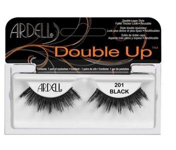 Ardell Professional Double Up False Eyelashes Style - 201 Black - Nepwimpers - Zwart