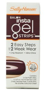 Sally Hansen Salon Insta Gel Strips - 190 Plums The Word