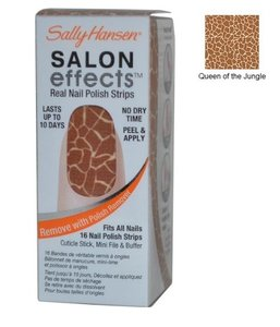 Sally Hansen Salon Effects Real Nail Polish Strips - 460 Queen Of The Jungle