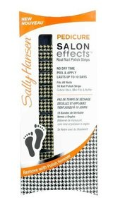 Sally Hansen Pedicure Salon Effects Real Nail Polish Strips - 303 Puppy Tooth