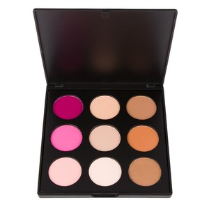 Coastal Scents Sleek Silhouette Palette - Highlight, Contour & Blush - 9 shades
