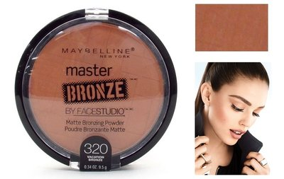 Maybelline Master Bronze Matte Bronzing Powder By Facestudio - 320 Vacation Bronze