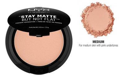 NYX HD Studio Photogenic - Stay Matte But Not Flat Powder Foundation - SMP18 Medium
