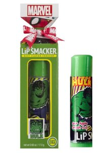 Lip Smacker Mega Marvel Incredible Hulk Lip Balm - 82011 Sour Apple Smash Gift Box