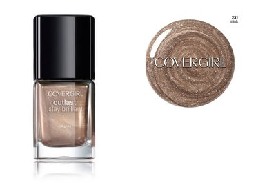 CoverGirl Outlast Stay Brilliant Nail Gloss - 231 Mink