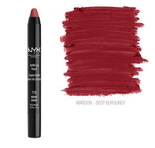 NYX Jumbo Lip Pencil - JLP 718 Maroon