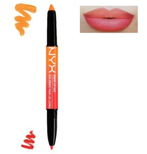 NYX Ombre Lip Duo - OLD05 Peaches & Cream - 2-in-1 Lipstick and Lipliner