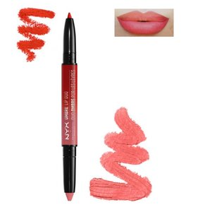 NYX Ombre Lip Duo - OLD09 Razzle & Dazzle - 2-in-1 Lipstick and Lipliner