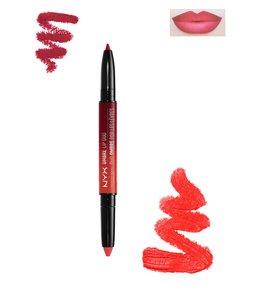 NYX Ombre Lip Duo - OLD09 Razzle & Dazzle - 2-in-1 Lipstick and Lipliner