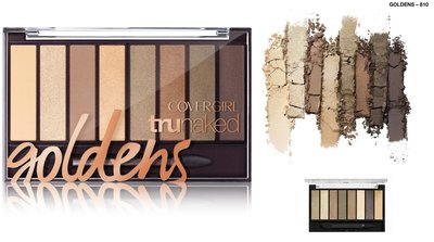 Covergirl TRUNaked Eyeshadow Palette - 810 Goldens
