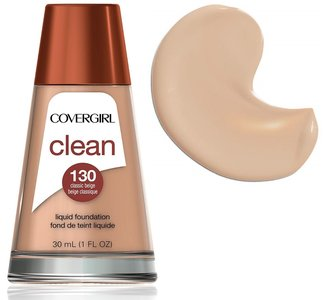 Covergirl Clean Normal Skin Foundation - 130 Classic Beige