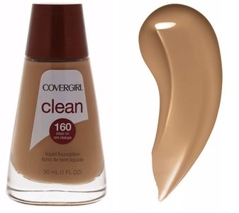 Covergirl Clean Normal Skin Foundation - 160 Classic Tan