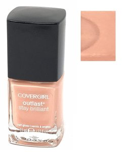 CoverGirl Outlast Stay Brilliant Nail Gloss - 35 Totally Tulip