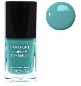 CoverGirl Outlast Stay Brilliant Nail Gloss - 285 Mint Mojito