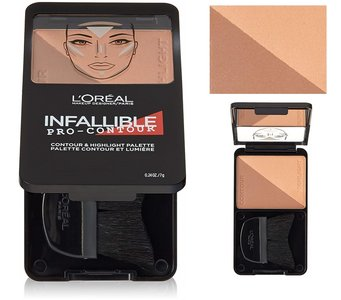 L'Oréal Paris Infallible Pro Contour & Highlight Palette - 815 Deep